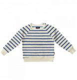 Snurk Sweater kids breton blue-maat