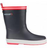 Winter-Grip Snowboot junior welly antraciet rood-schoenmaat 22 23