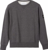 Butcher of Blue J30j316550 monogram badge sweater crewneck beh black calvin klein