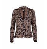 Zizo Maud blazer w120.mau.303 tiger bronze