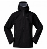 Bergans Jas men gjende 3l black solid charcoal-l