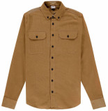 Kultivate Ribcord shirt mark bone brown