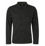 No Excess 97410803 long sleeve overshirt 052 dark green no-excess