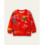 Oilily Heritage sweater infinity rose rood-