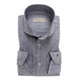 John Miller Heren overhemd midden cutaway tailored fit
