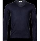 Thomas Maine Heren trui v-hals merino wol regular fit