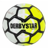 Derbystar Straatvoetbal street soccer yellow white