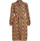 Object 23035482 lisa l/s shirt jurk dames black -