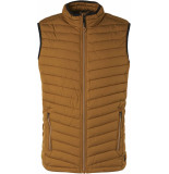 No Excess Bodywarmer padded bronze