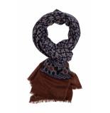 Giordano Print with border shawl 209057/60