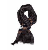 Giordano Dot with border shawl 209051/80