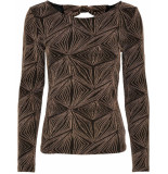 Only Shine l/s glitter bow top jrs