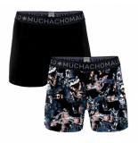 Muchachomalo Boxershorts men gadgets print black (2-delig)-s
