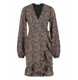 Freebird Rosy ls jurk zwart