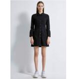 LTB Jeans Halsey 60906 jeans jurk black wash -