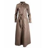 Est'Seven Jurk est button down dress