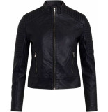 Sisters Point Duna ja pu fake leather jacket