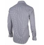 Cavallaro Cavallaro overhemd shirt blok blauw 1095010-63103