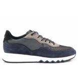 Floris van Bommel Sport navy sneakers