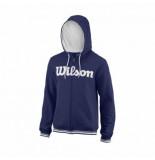 Wilson Tennistrui men team script blue depths white-m
