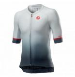 Castelli Fietsshirt men aero race 6.0 jersey silver gray-xxxl