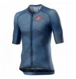 Castelli Fietsshirt men climber's 3.0 jersey light steel blue-m