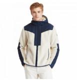 Timberland Jas men faux shear fleece jacket sapphire white smoke-s