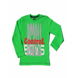 Boys in Control 301 Apple Green shirt
