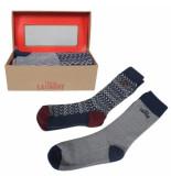 Montazinni Tokyo laundry heren giftbox sokken macklemore navy