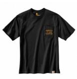 Carhartt T-shirt men workwear pocket graphic s/s black-m