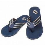 Sinner Slipper men besar dark blue-schoenmaat 40