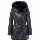 Salsa 124221 reversible fur jacket