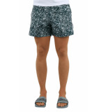 Off White Floral swimshorts
