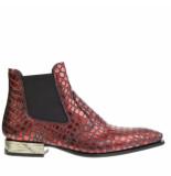 New Rock Chelsea boots croco
