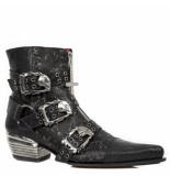 New Rock Western boots combi