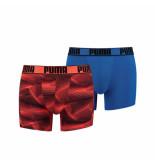 Puma Active boxer print 2p