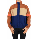 Drole De Monsieur Color block triped jacket