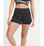 Superdry Training lw double layer shorts