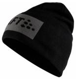 Craft Core square logo knit hat