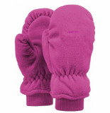 Barts Want kids fleece mitts fuchsia