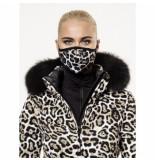 Goldbergh Gezichtsmasker women loes leopard