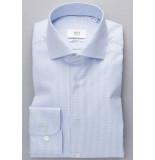Eterna Overhemd licht pied de poule cutaway modern fit
