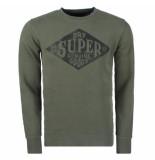 Superdry Heren sweater workwear crew sweater -