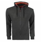 Superdry Heren vest urban athletic classic zip hood olive green -