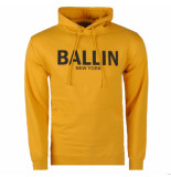 Ballin New York heren hoodie sweat oker