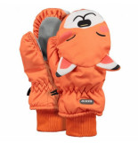 Barts Want kids nylon mitts 3d orange