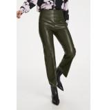 Soaked in Luxury 30404598 slkaylee pu kickflare pants