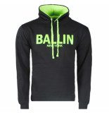 Ballin New York heren trui hoodie sweat neon groen