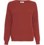 Moss Copenhagen Femme mohair o pullover barn red