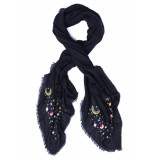 Anokhi Shawl galaxy black